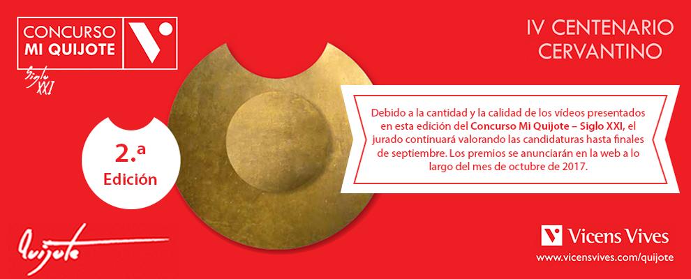 Concurso Mi Quijote - 2ª edición