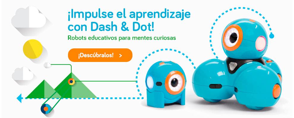 Dash & Dot Robots educativos para mentes curiosas