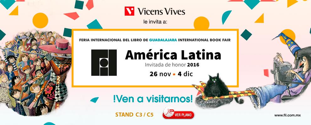 Vicens Vives Feria Internacional del Libro infantil y juvenil