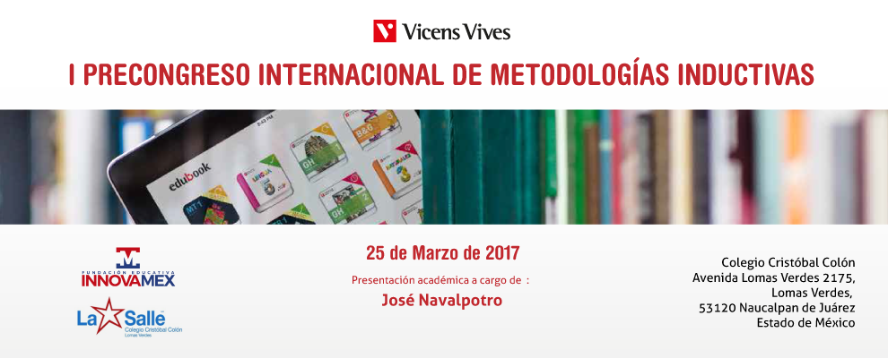 I PRECONGRESO INTERNACIONAL DE METODOLOGÍAS INDUCTIVAS